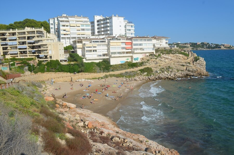 Llenguadets Strand