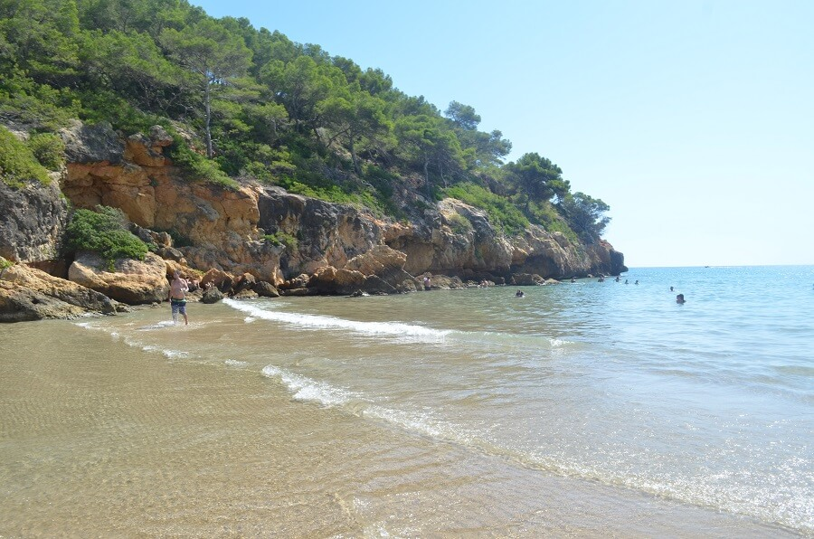 Strand von Cala Crancs