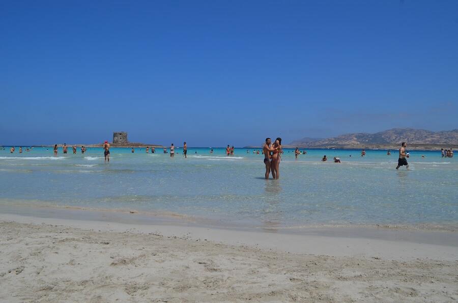 praia de La Pelosa