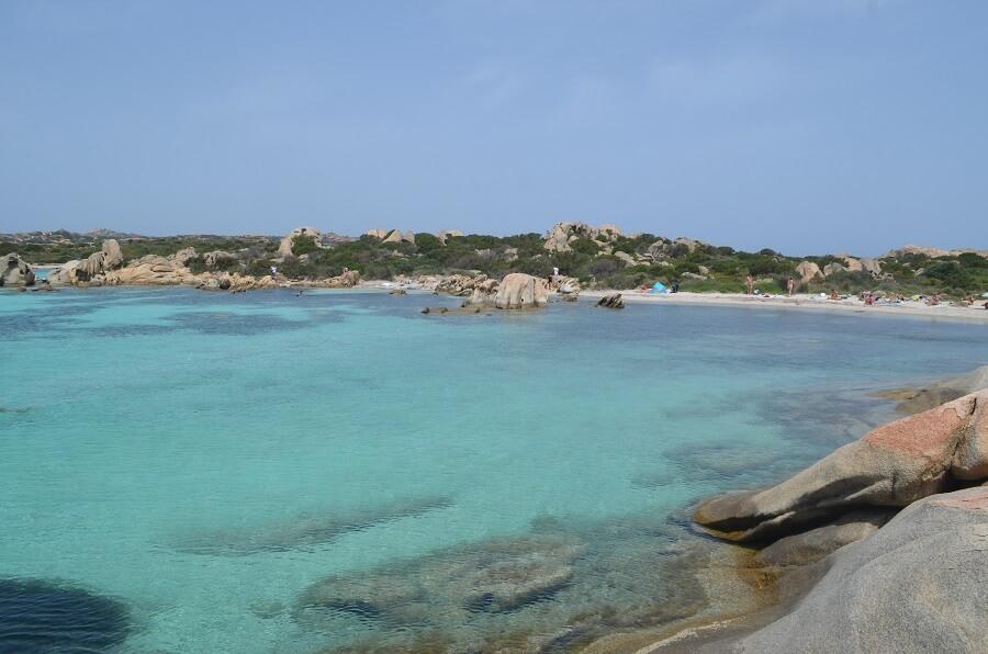 Praias das Ilha Giardinelli, em Sardenha, na Itália